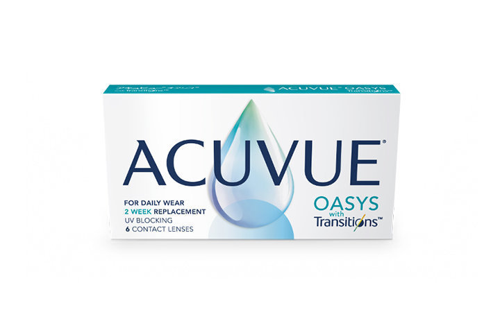 Acuvue Oasys With Transitions Light Adaptive Technology